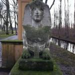 Sphinx im Park von Schloss Nordkirchen