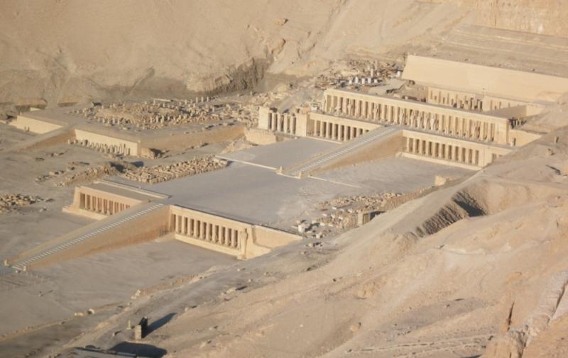 Totentempel der Hatschepsut in Deir el-Bahari