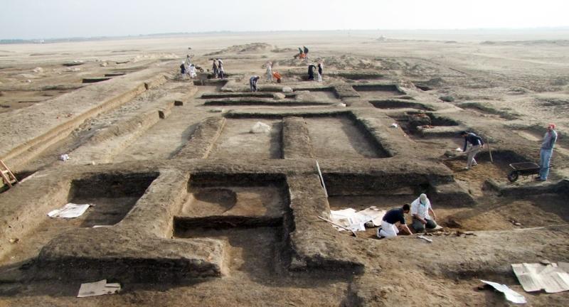 Ausgrabungen in Tel Habuwa