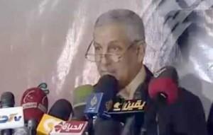 Der ehemalige Gouverner von Luxor