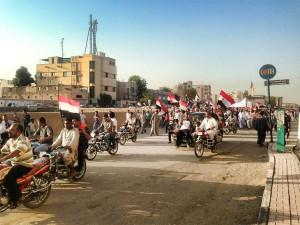 Demo in Luxor