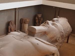 Ramses II. in Memphis