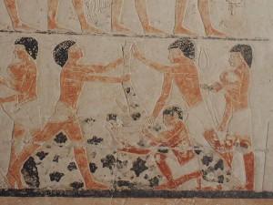 Schlachtszene Grab des Nianchchnum, Chnumhotep