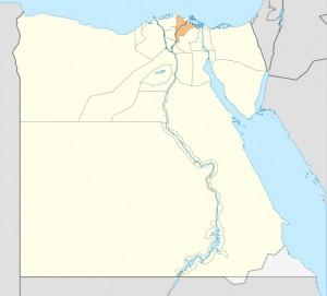Bezirk Dakahliya in Ägypten