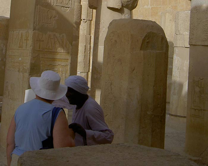 Frau in Ägypten