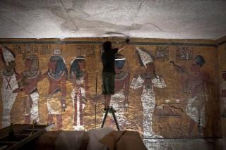 Replik von Tutanchamuns Grab