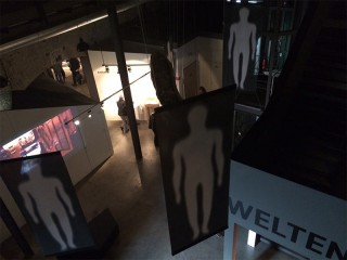 Die Unterwelten-Ausstellung wird sehr stimmungsvoll präsentiert
