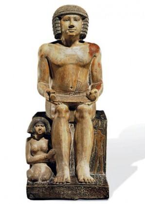 Statue des Sekhemka Mit freundlicher Genehmigung von Save Sekhemka Action Group