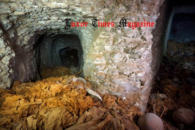 Grabkammer in Dra Abu el-Naga