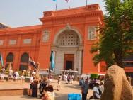 Eingang des Ägyptischen Museums in Kairo