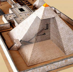 Pyramide-Innen
