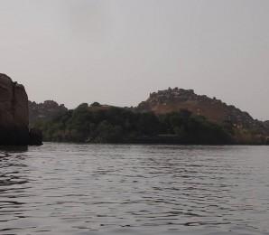 Die Insel Agilkia, auf der heute der Isis-Tempel von Philae steht
