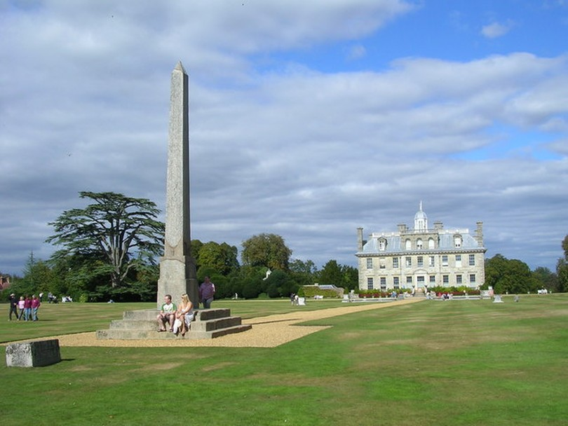 Foto Philae-Obelisk und Kingston Lacy Haus