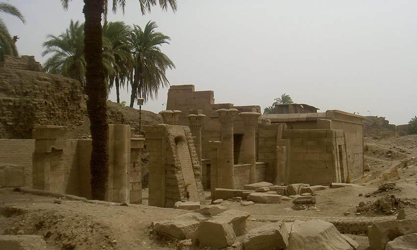 Das Ptah-Heiligtum im Karnak-Tempel