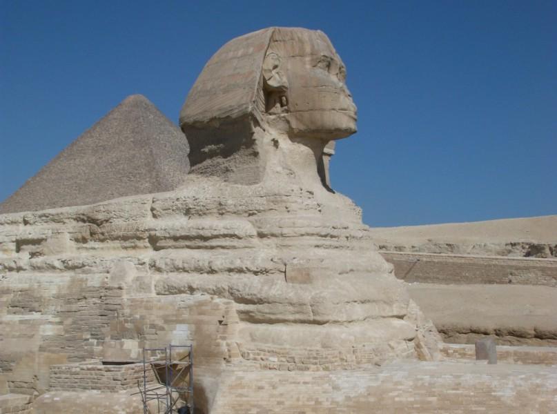 Foto Sphinx von Gizeh
