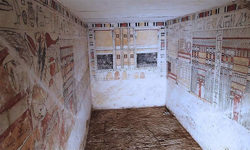 Das Grab des Ankhti Bild: MSA