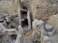 Die Ruinen vor ihrer Zerstörung Bild: Egypt's Heritage Task Force