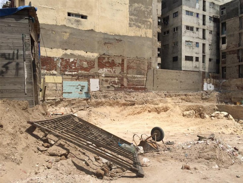 Am heutigen Donnerstag wurden die historischen Ruinen zerstört Bild: Egypt's Heritage Task Force