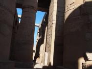 Der Säulensaal im Karnak-Tempel