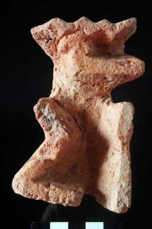 Die Rückseite des gefundenen Stempels Bild: MSA