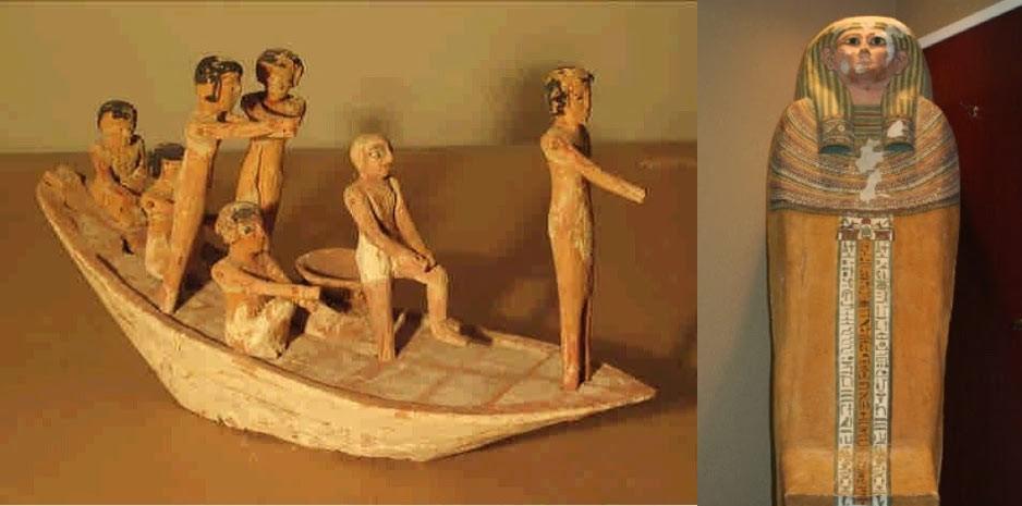 Zwei von 123 im April aus den USA zurückgeholten Objekten. Bild: LuxorTimes