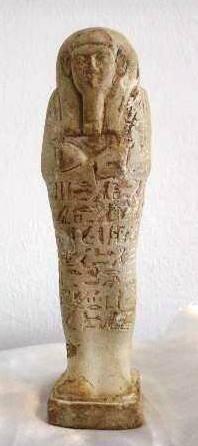 Eines der letzten in diesem Jahr wiederbeschafften Artefakte: Der Ushebti eines »Hr Iraa« aus der 26. Dynastie. Bild: MSA