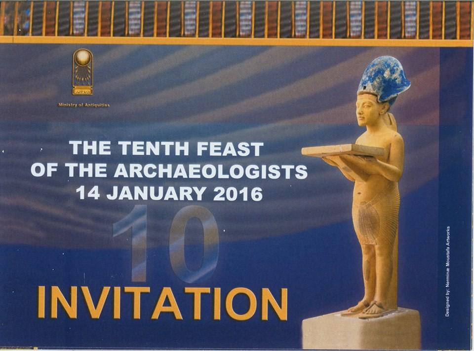 Einladung zum 10. Bankett der Archäologen am 14. Januar. Bild: MSA
