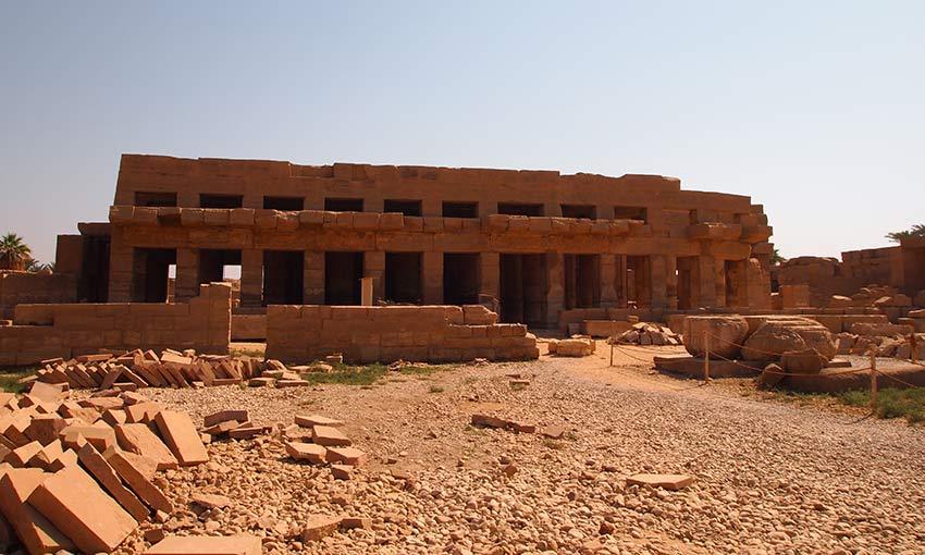 Der Festtempel von Thutmosis III. im Karnak-Tempel