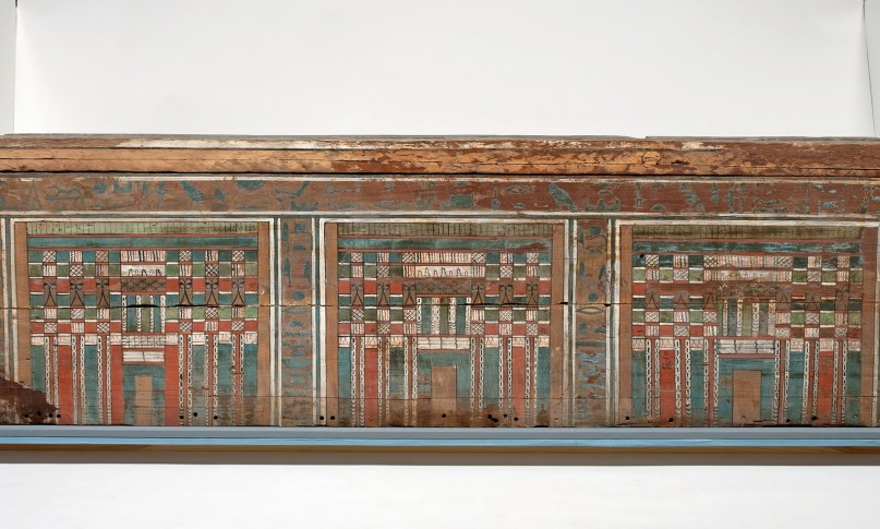 Sarkophag aus recycelten Zedernholz für eine Frau namens Nacht. Datierung ca. 1985-1773 v. Chr. Foto: Andrew Norman/The Fitzwilliam Museum (mit freundlicher Genehmigung)