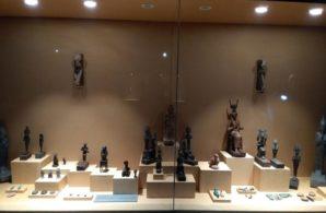 Neue Ausstellungsvitrine im Mallawi Museum. Bild: MSA