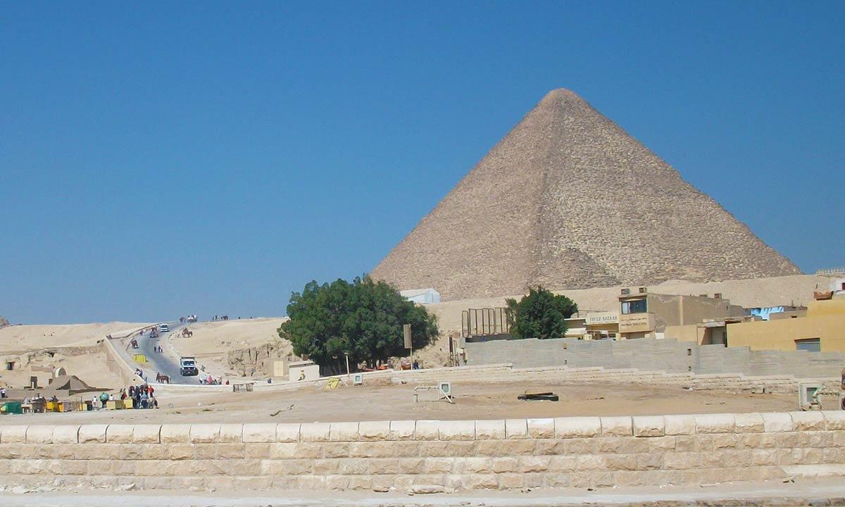 Hohlraum Cheops Pyramide