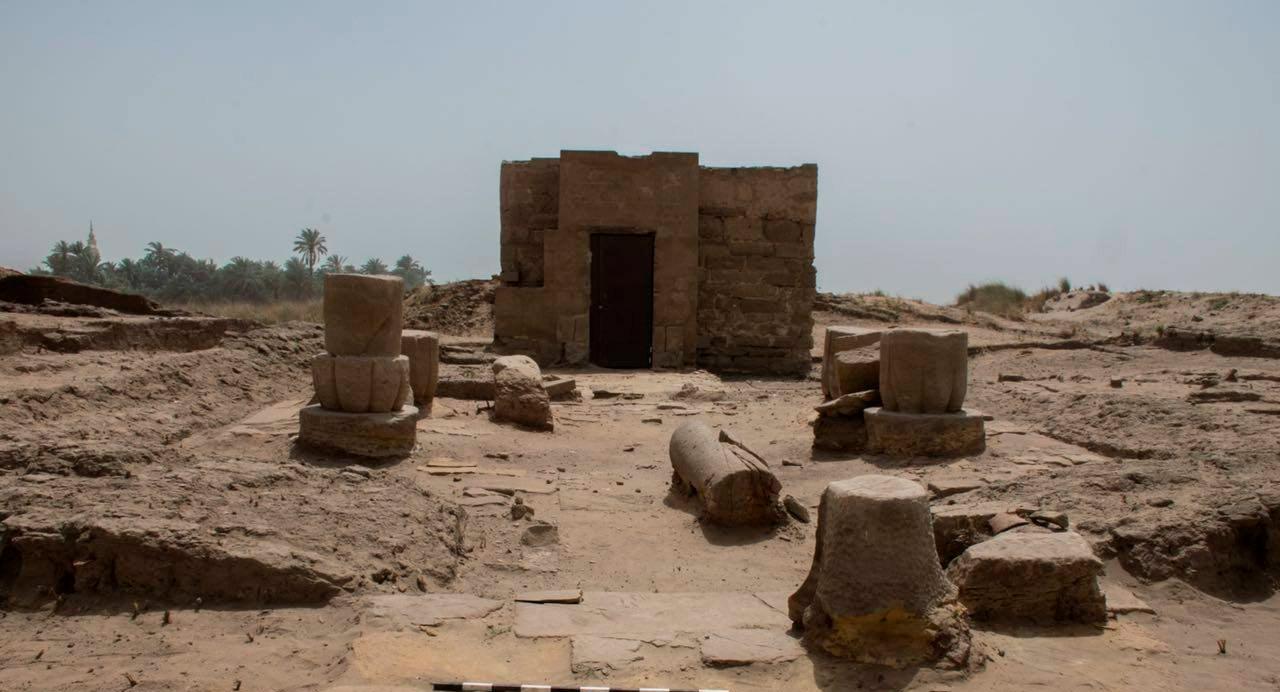 Osiris Schrein Im Karnak Tempel Entdeckt