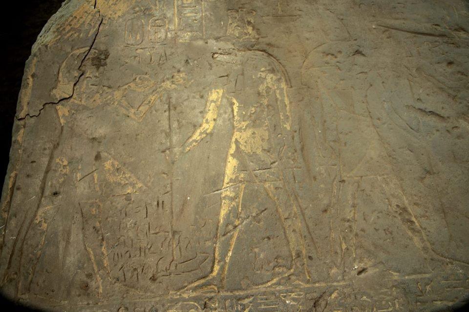 Und Wieder Kom Ombo Bemalte Reliefs Entdeckt